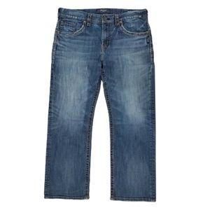 Silver Gordie Western Glove Works Jeans